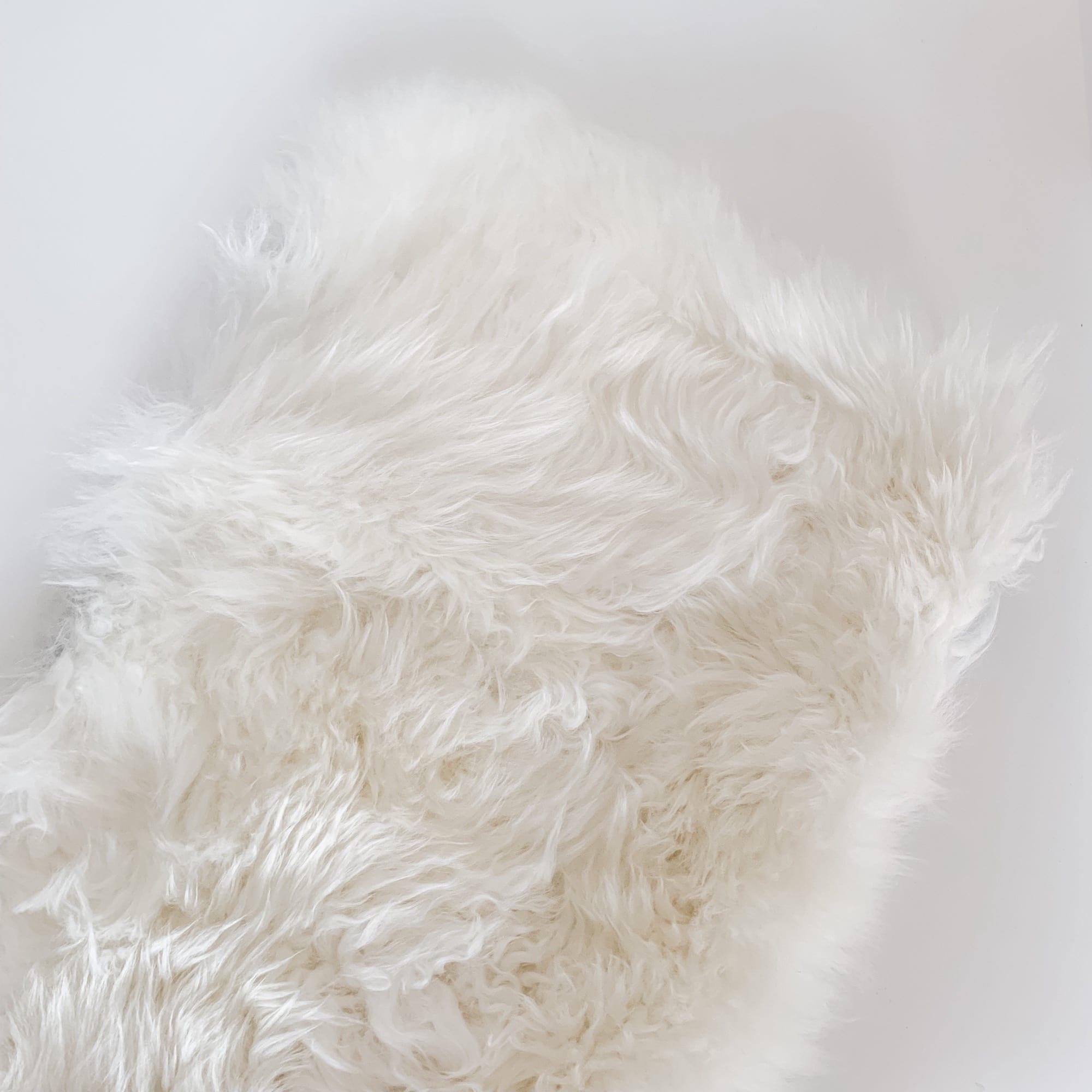 Bozz Sheepskin Wool Liner Ivory