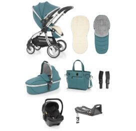 egg Stroller SHELL 8-piece Bundle with Changing Bag Cool Mist