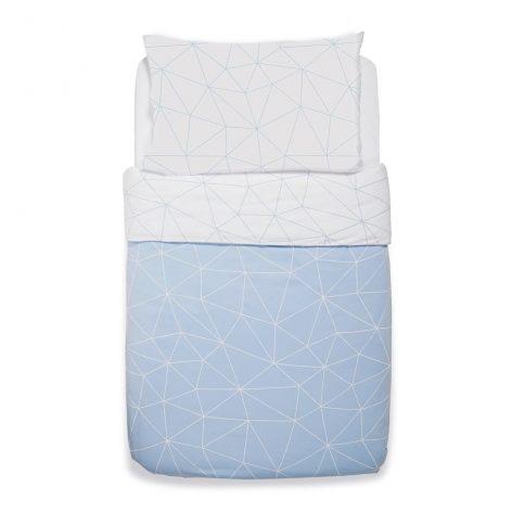 Snuz Cot Duvet Cover and Pillow Case Set (100x120cm) - Geo Breeze