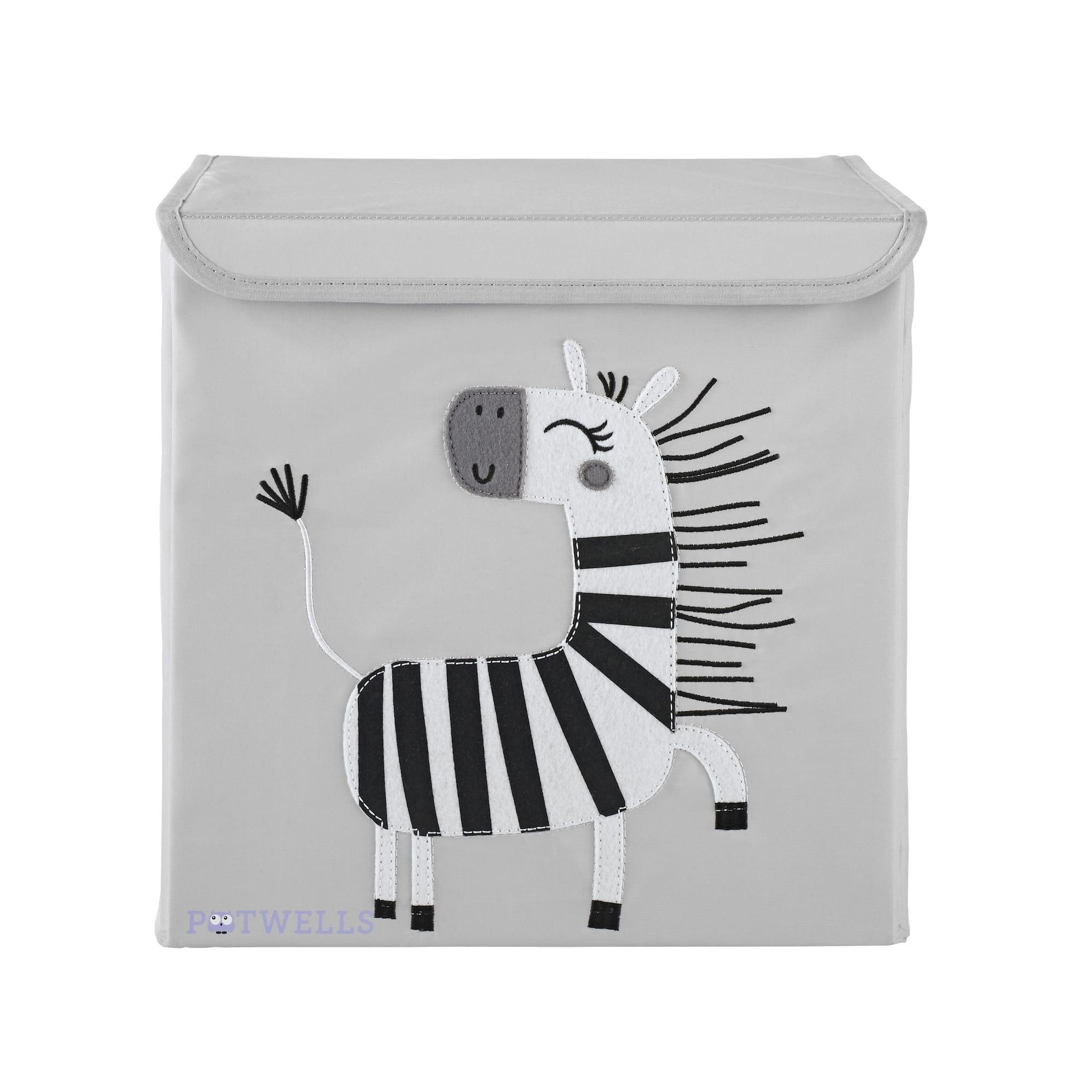 Zebra Storage Box