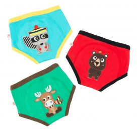 Zoocchini Training Pants Boys Forest Chums