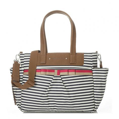 Babymel Cara Edition Changing Bag Navy Stripe