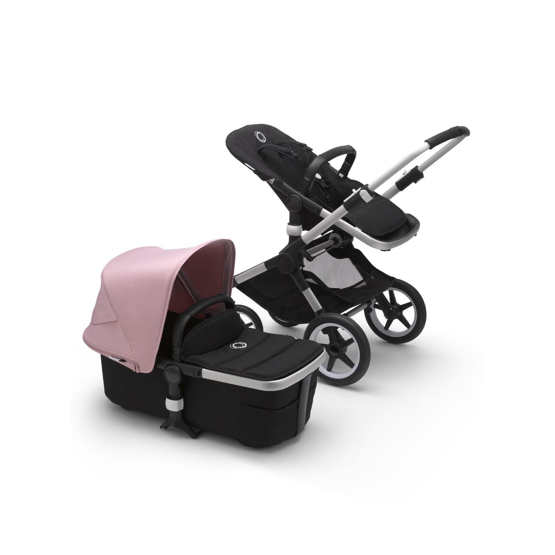 Bugaboo Fox2 Stroller ALU/BLACK/SOFT PINK