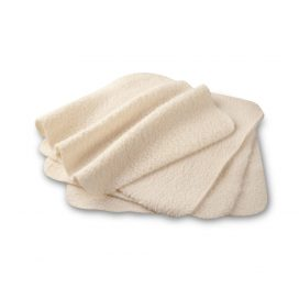 LuLuJo 4-pack Organic Cotton Facecloths