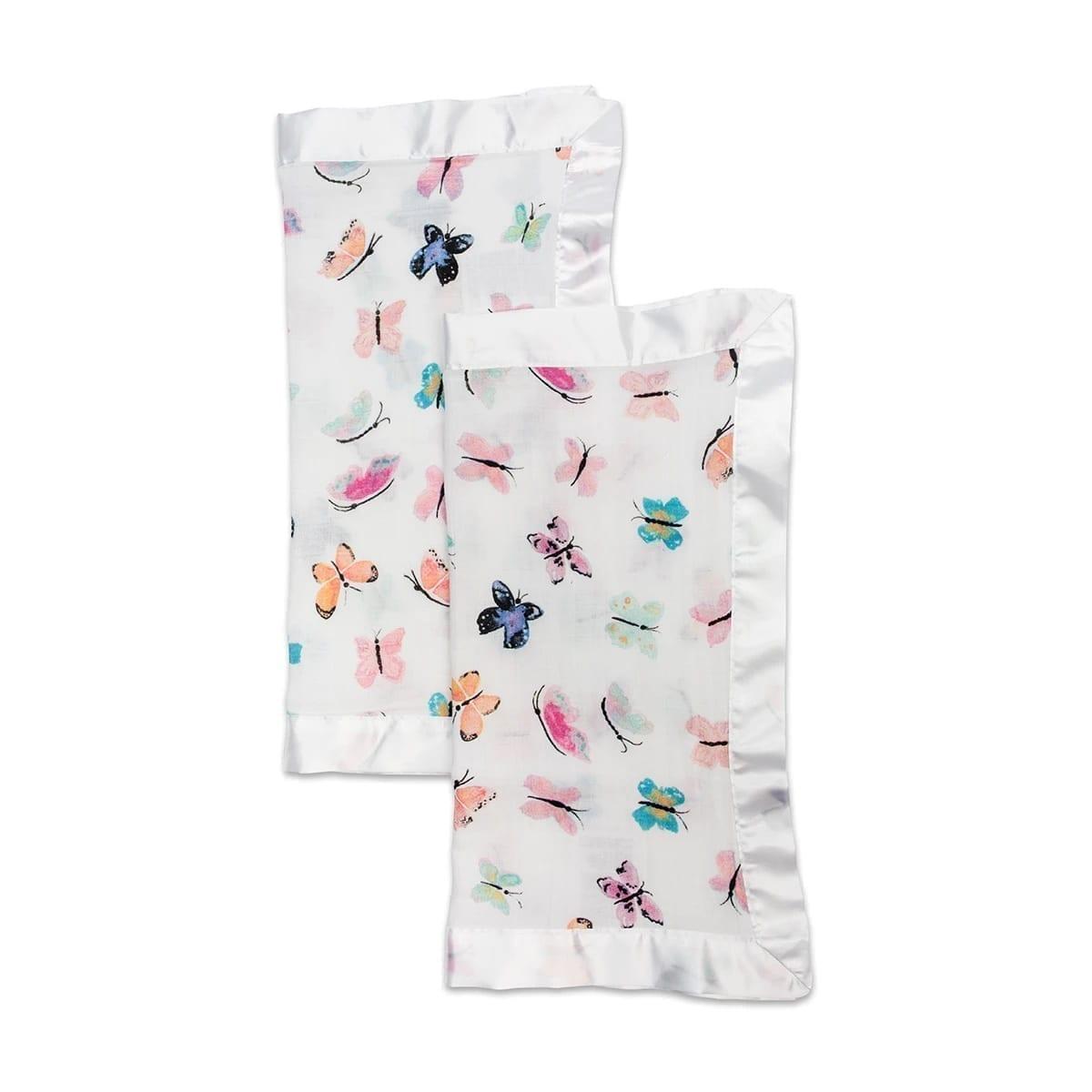 LuLuJo Muslin Security Blanket - Butterfly