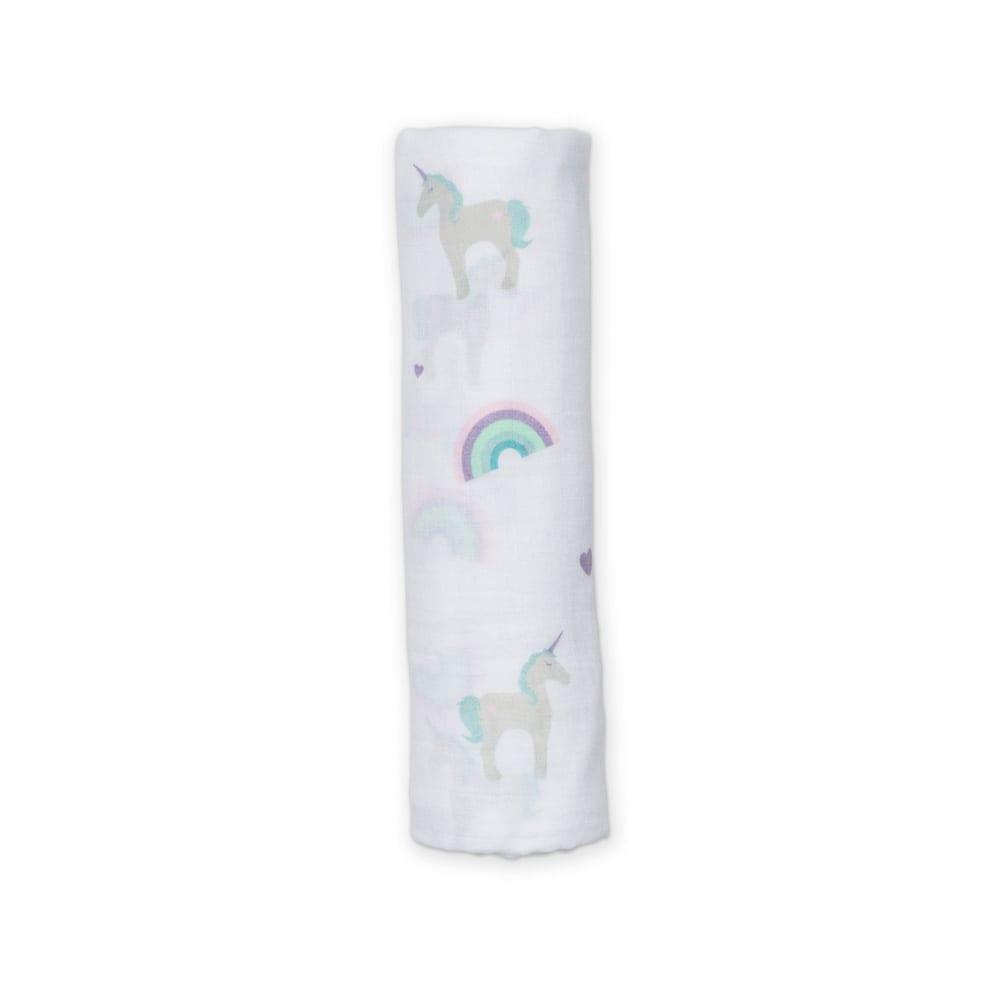 LuLuJo Muslin Swaddle - Unicorn