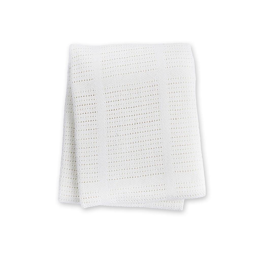 LuLuJo Cellular Blanket - White