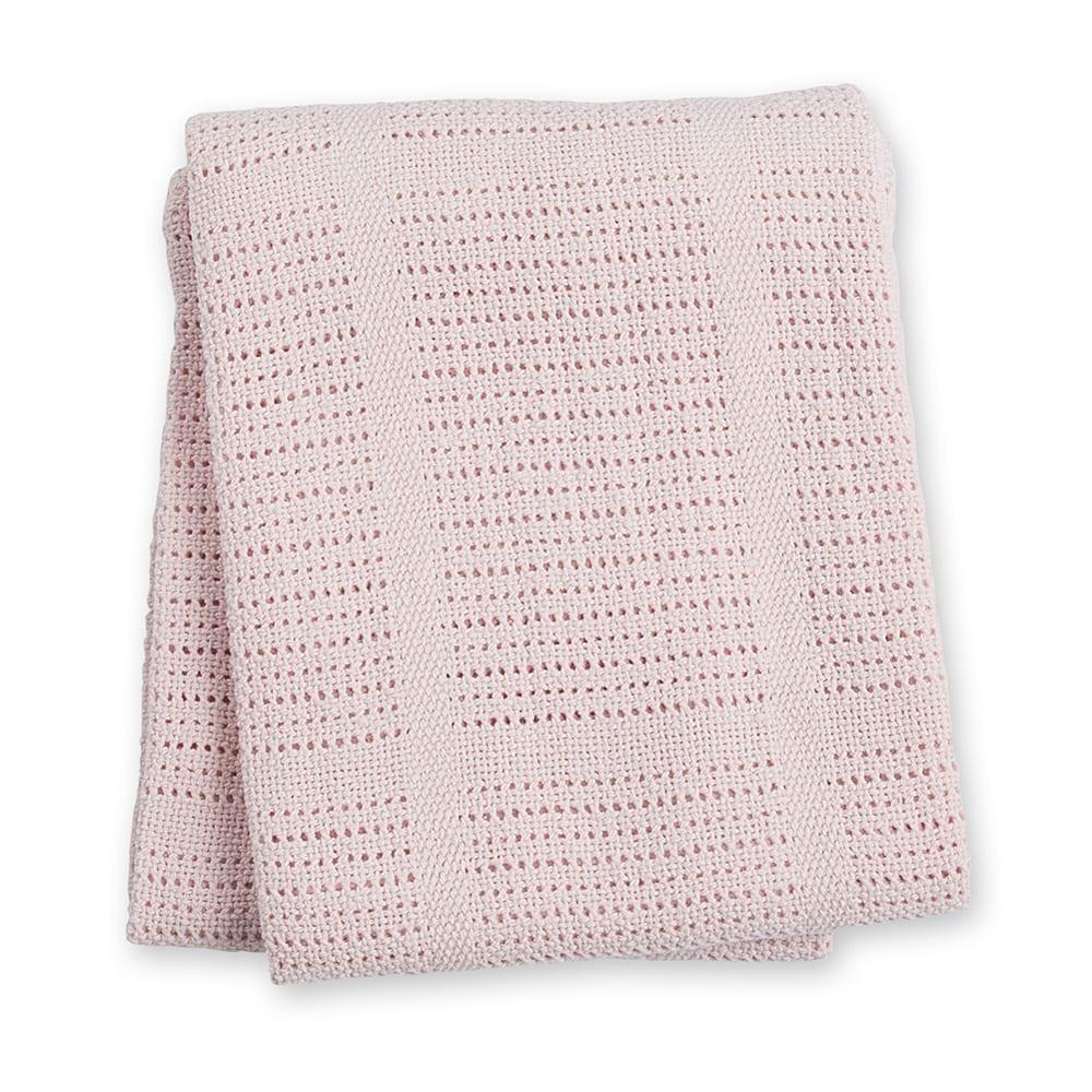 LuLuJo Cellular Blanket - Pink