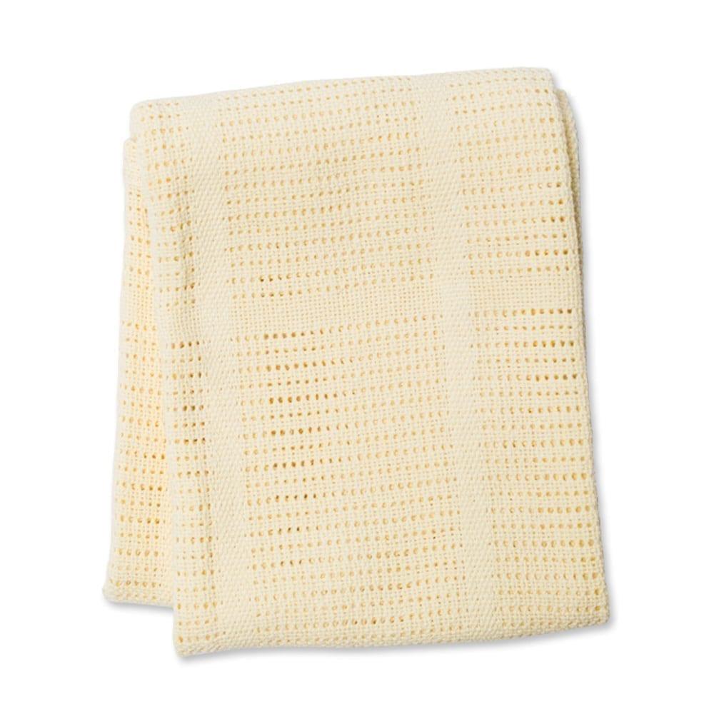 LuLuJo Cellular Blanket - Yellow