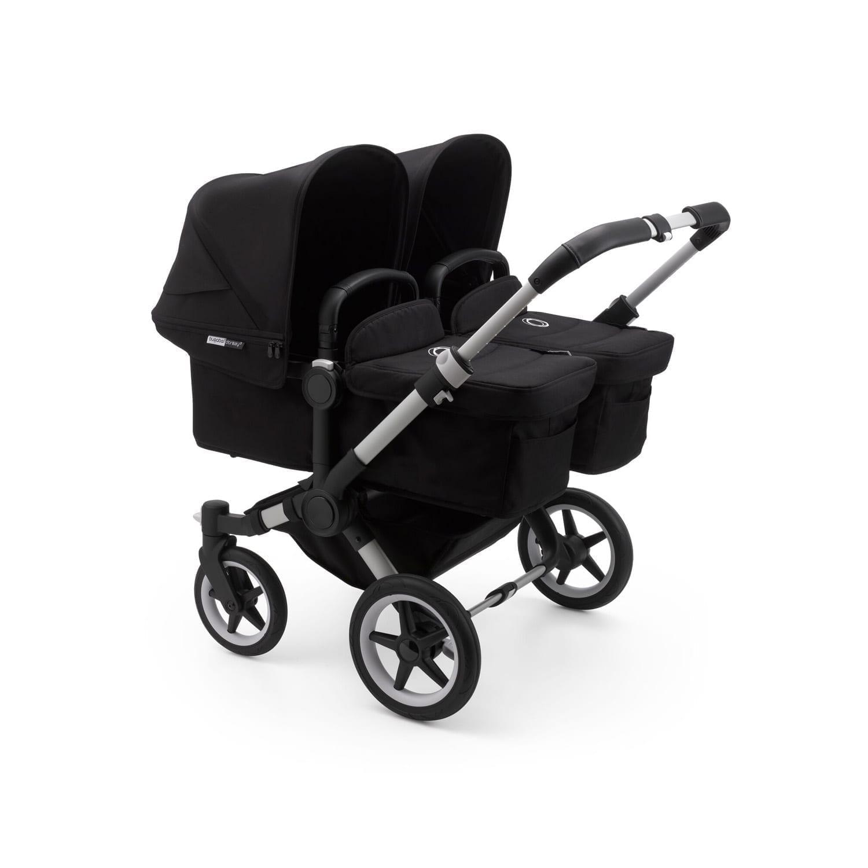 Bugaboo Donkey3 Twin Stroller ALU/BLACK/BLACK