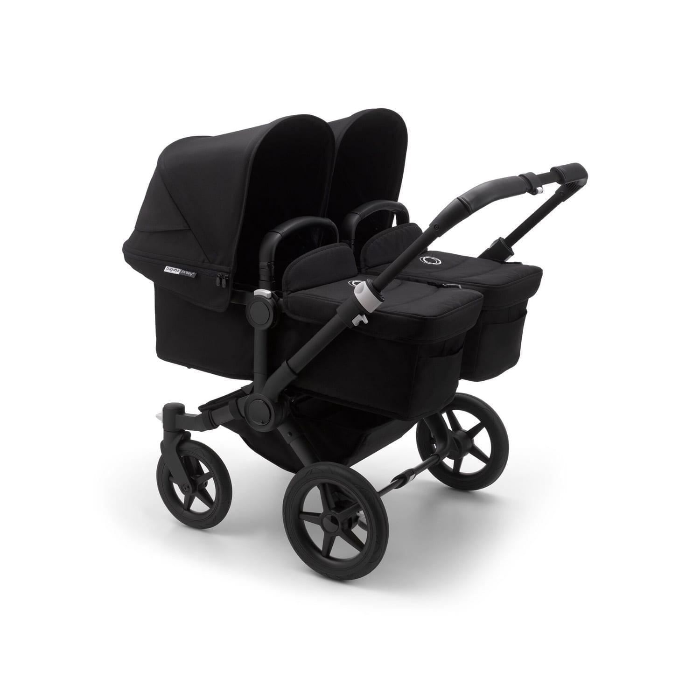 Bugaboo Donkey3 Twin Stroller BLACK/BLACK/BLACK