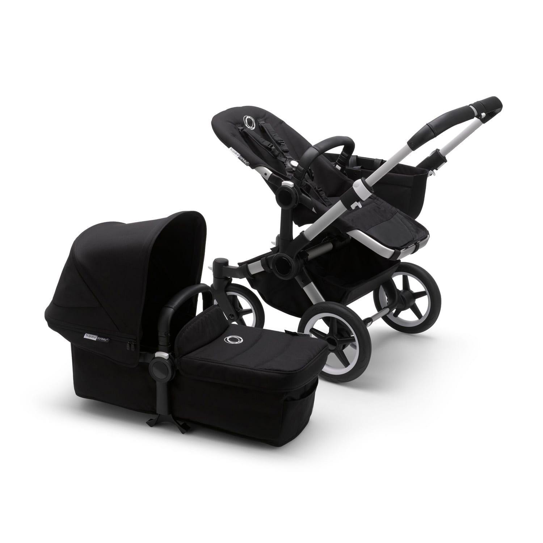 Bugaboo Donkey3 Mono Stroller ALU/BLACK/BLACK