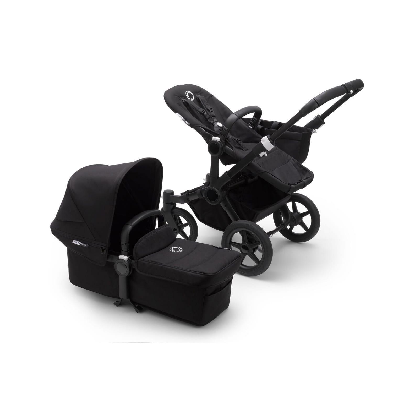 Bugaboo Donkey3 Mono Stroller BLACK/BLACK/BLACK