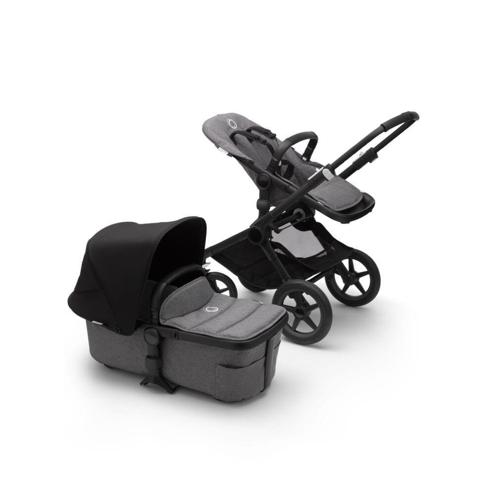 Bugaboo Fox2 Stroller BLACK/GREY MELANGE/BLACK
