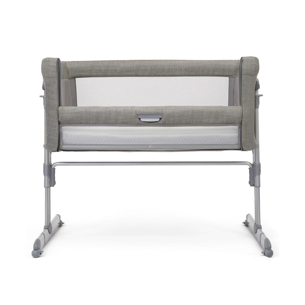 Joie Roomie Glide Bedside Crib - Foggy Grey