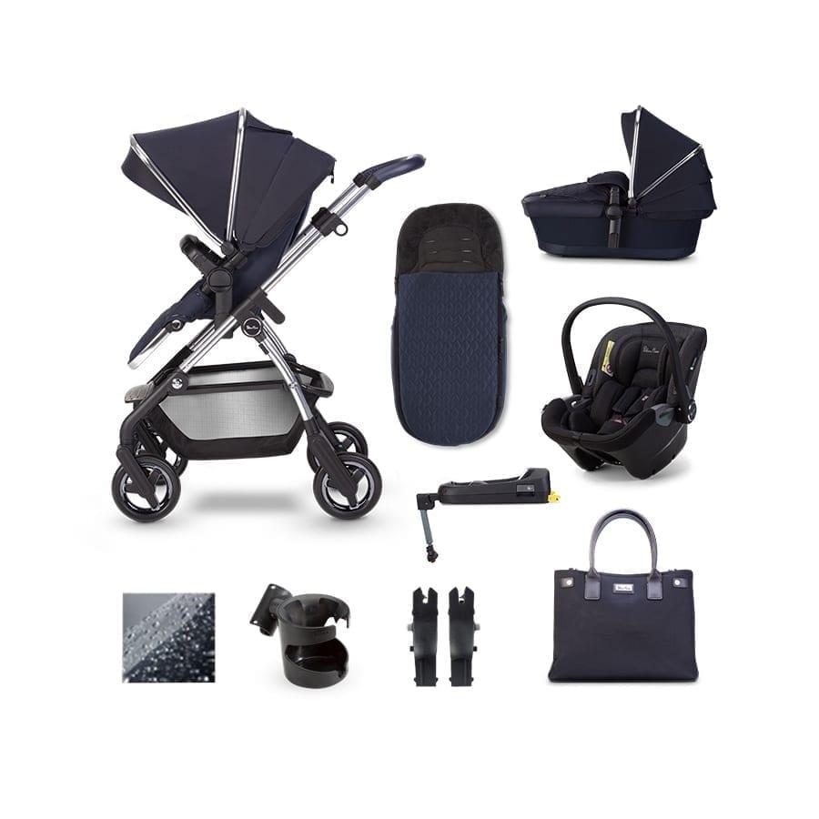Silver Cross Wayfarer Dream Donington i-Size Bundle – Sapphire
