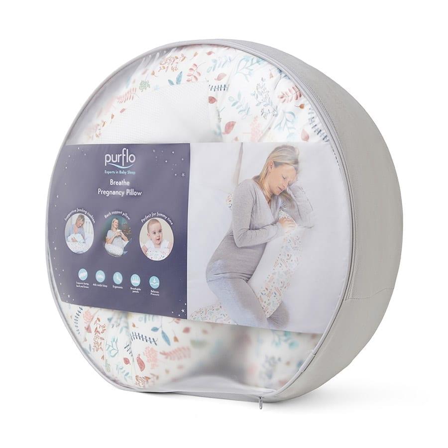 Purflo Breathe Pregnancy Pillow - Botanical