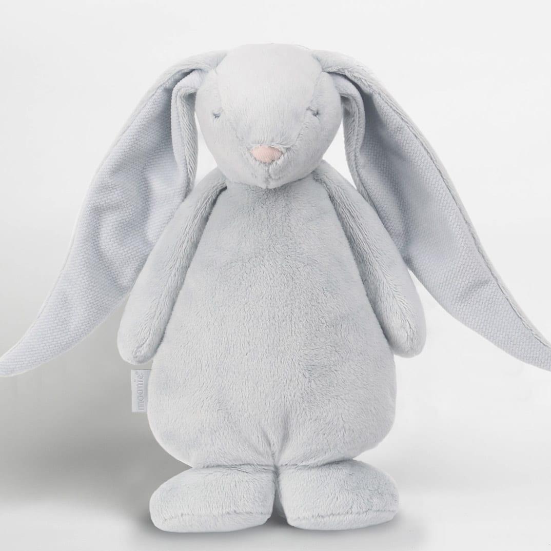 Moonie Humming Friend Baby Nightlight Silver