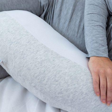 Purflo Breathe Pregnancy Pillow - Minimal Grey