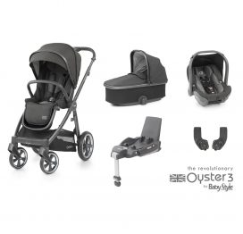 BabyStyle Oyster 3Pepper (City Grey) Essential Travel System
