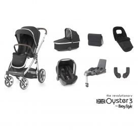BabyStyle Oyster 3 Caviar (Mirror) Luxury Travel System