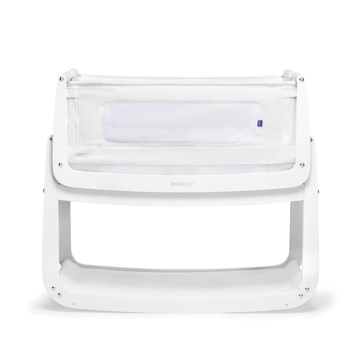 SnuzPod⁴ Bedside Crib - White