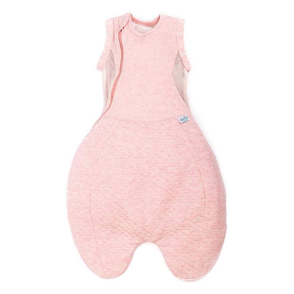 Purflo Swaddle To Sleep Bag 2.5 Tog 0-4m All Seasons - Shell Pink
