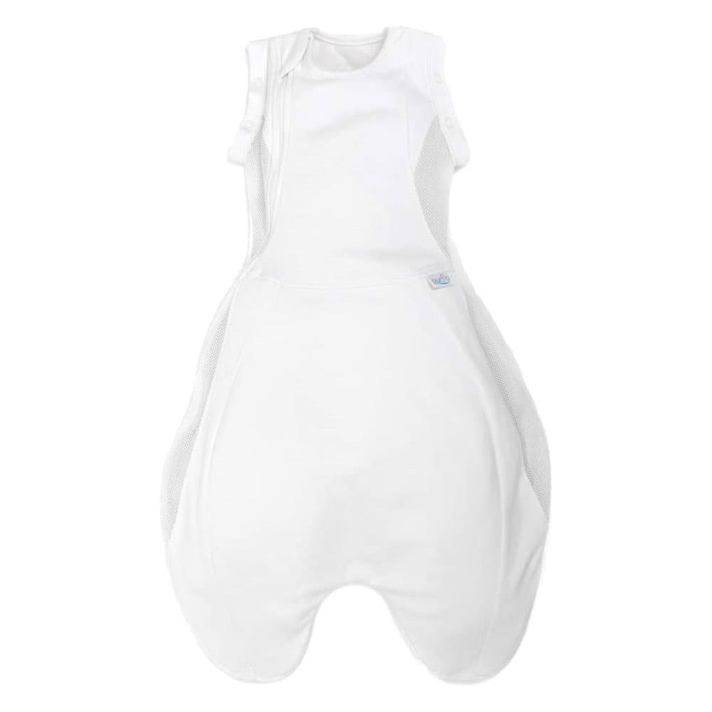 Purflo Swaddle To Sleep Bag 2.5 Tog 0-4m All Seasons - Soft White
