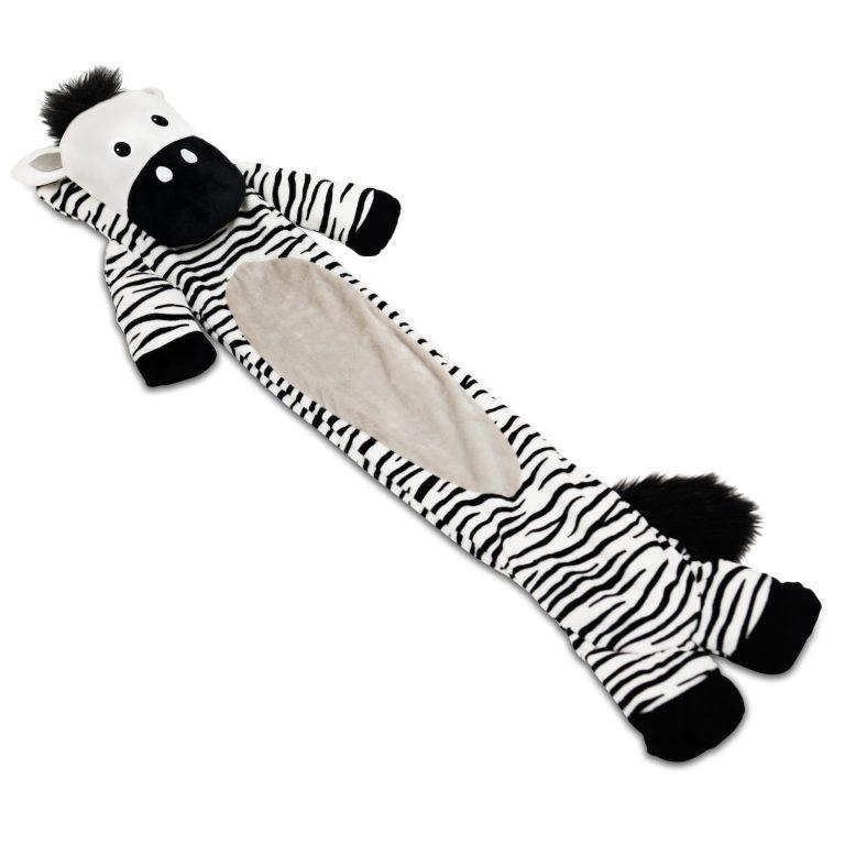 Long Hot Water Bottle Zebra