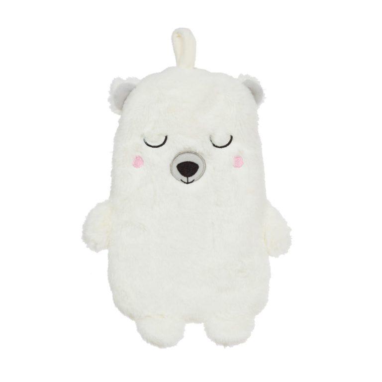 Childrens Cute Polar Bear Hot Water Bottle