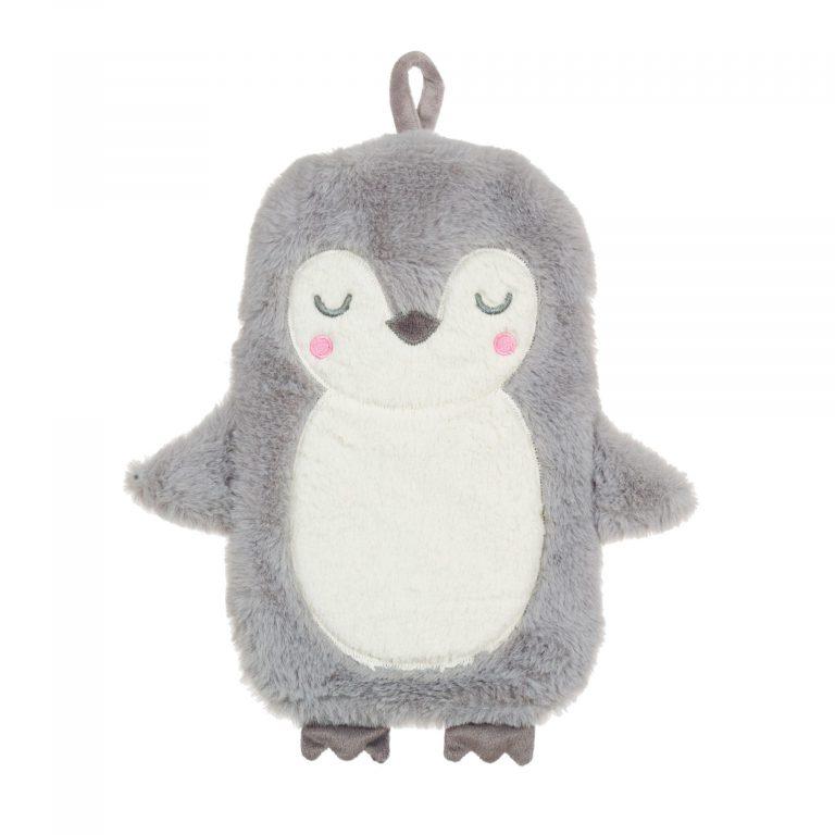 Childrens Snugly Penguin Hot Water Bottle
