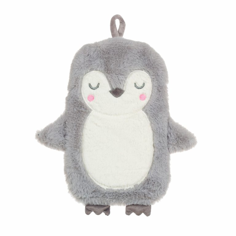 Childrens Snugly Penguin Hot Water Bottle