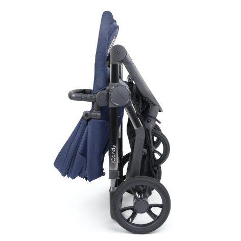 iCandy Orange Royal Blue Marl Pushchair