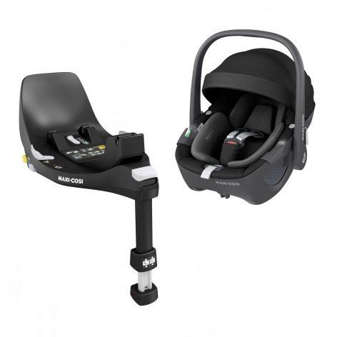 Pebble 360 Essential Black Car Seat & Base
