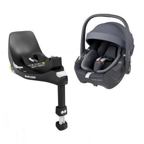 Pebble 360 Essential Graphite Car Seat & Base