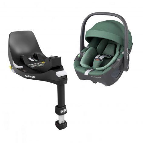 Pebble 360 Essential Green Car Seat & Base