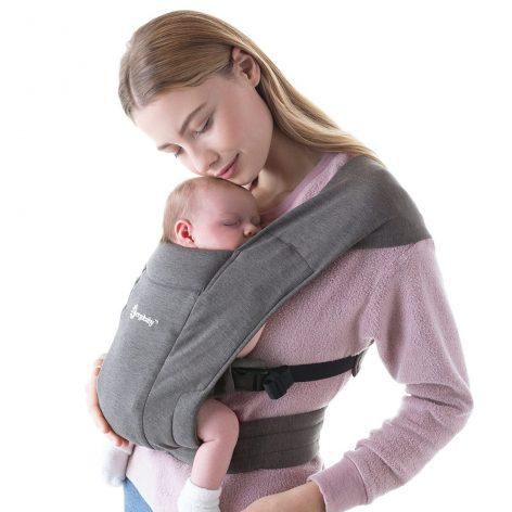 Ergobaby Embrace Heather Grey Newborn Carrier